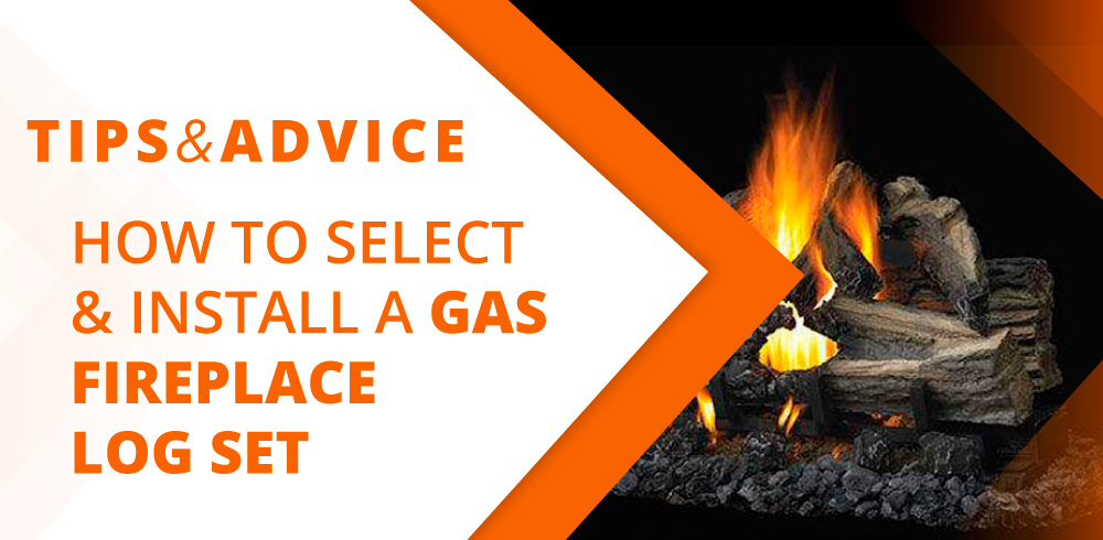 How To Select And Install A Gas Fireplace Log Set Fireplaces Direct Blog