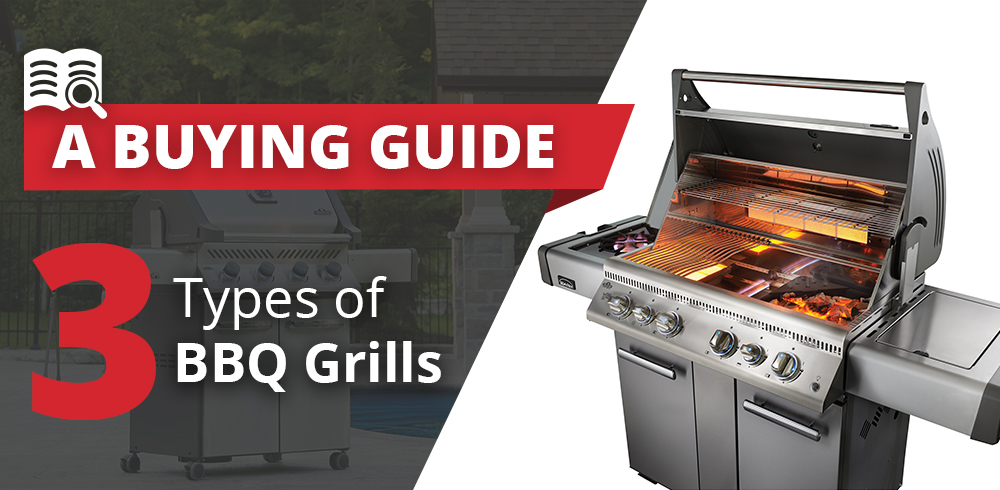 A Guide to the Three Types of BBQ Grills