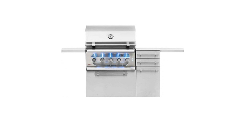 American Muscle Grill 36-Inch Freestanding Grill