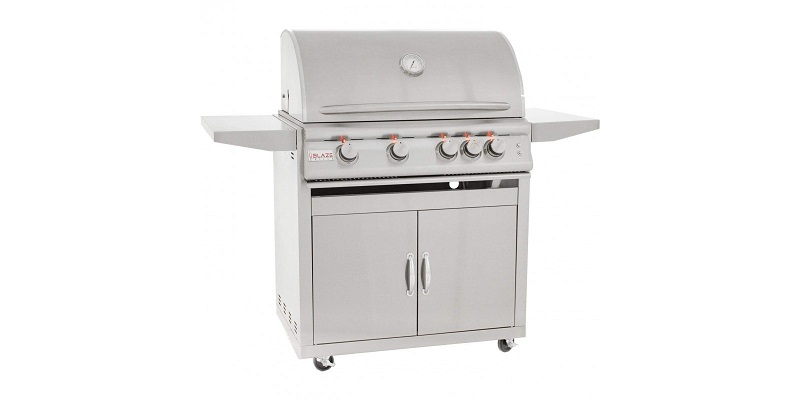 Blaze 32-Inch Freestanding Gas Grill with Lights