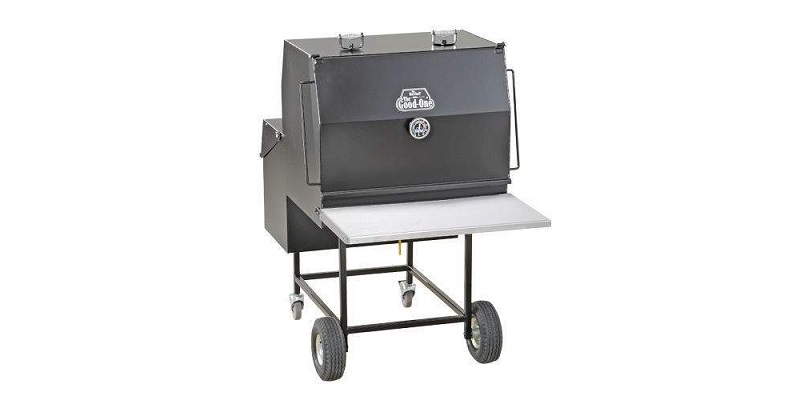 The Good-One The Marshall Generation III Natural Wood Smoker and Grill