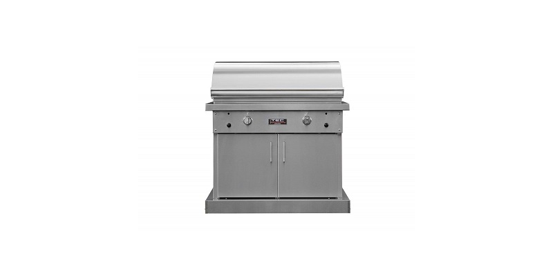 TEC Sterling Patio 2 FR Infrared Gas Grill on Pedestal