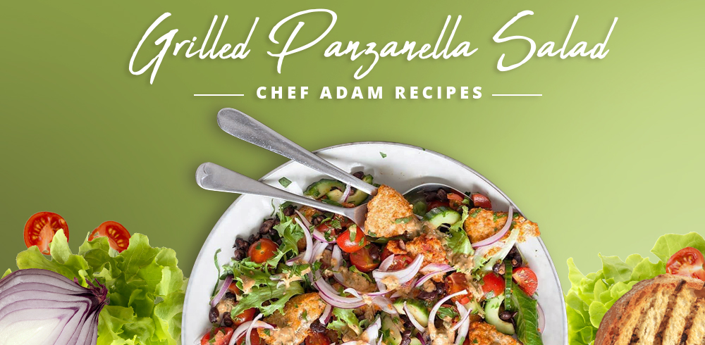Classic Italian: How to Make Grilled Panzanella Salad